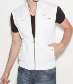 G by GUESS General Vest, TRUE WHITE (MEDIUM) G by GUESS. $49.50