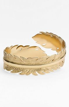 Melinda Maria Feather Cuff available at #Nordstrom