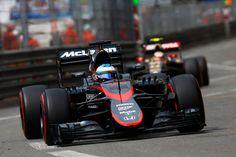 McLaren HONDA MP4-30 at Monaco 2015