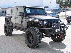 Black on Black Jeep Rubicon