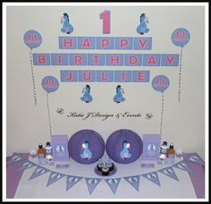 EEYORE Birthday BuntingBirthday Party Decorations50th