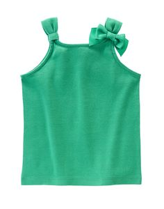 Bow Tank at Gymboree Collection Name: Hop 'n' Roll (2015)