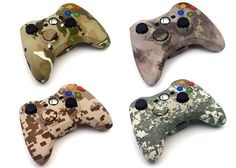 Every IntensaFire Xbox 360 modded controller is rigorously tested prior to shipping and is backed by a 6 month warranty. Description from popularairsoft.com. I searched for this on bing.com/images