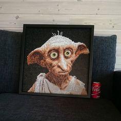 Dobby - Harry Potter perler art by skoogsparlan
