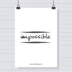 Pôster grátis: possible