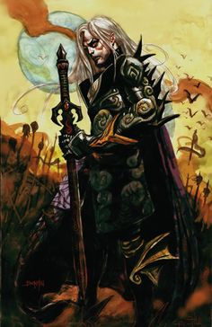 Elric by Dan Brereton. Perfect combination of subject and artist.