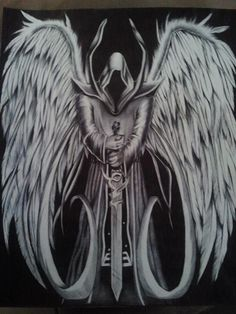 Angel of Death Drawing