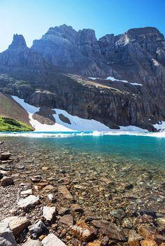 Iceberg Lake - Visit Glacier National Park