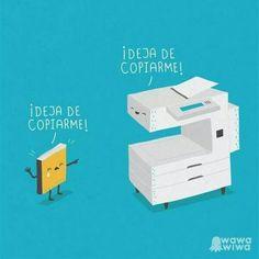 Deja de copiarme