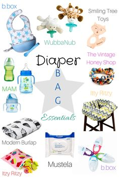 Babe Must-Haves: Diaper Bag Essentials
