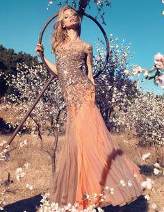 Anna Selezneva for Blumarine Spring 2013 Campaign by Camilla Akrans #fashion