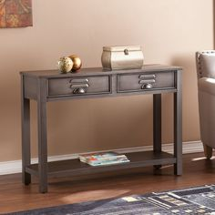AM+ Studio Glaser Console Table