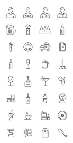 free-psd-bar-icons