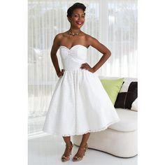 Lahaina Short Hawaiian Wedding Dress | DollyCouture.com