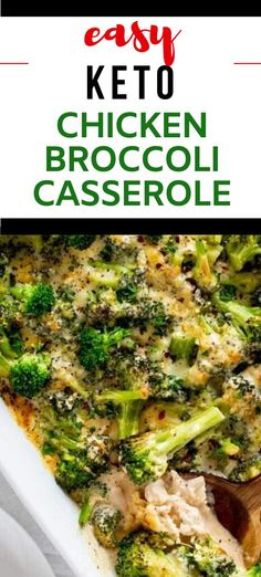 Anytime I can satisfy my cravings for comfort food in a way that doesn't involve a lot of carbs I am ecstatic. Easy Keto Chicken Broccoli Casserole is one of my go-to dinners. I prepare the chicken as part of my weekly meal prep, which makes this keto dish an easy weeknight meal. #kickingcarbs #lowcarbrecipe #ketodinner #keto #easyketodinner Baked Chicken Recipes, Keto Chicken, How To Cook Chicken, Casserole Dishes, Casserole Recipes, Low Carb Recipes, Real Food Recipes, Slow Cooker Shredded Chicken, Chicken Broccoli Casserole