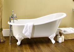 BagnoIdea.com - Vasca da bagno con piedini e schienale alto Shropshire - Vasche da bagno Victoria + Albert