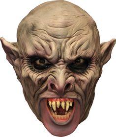3/4 vampier masker met gebit : Maskers,en goedkope carnavalskleding - Vegaoo