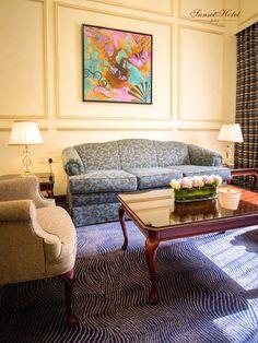 Living Room At The Sunset Hotel Jeddah