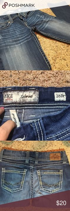 BKE Bootcut denim jeans Bke Sabrina fit jeans. Bootcut, great condition. size 28 regular BKE Jeans Boot Cut