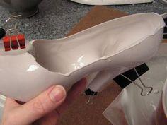 ~ Sugar Teachers ~ Cake Decorating and Sugar Art Tutorials: How to Make Chocolate High Heel Shoes by Jennifer Dontz