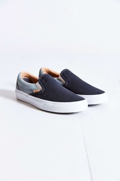 Vans Classic Knit Suede Slip-On Women's Sneaker #UrbanOutfitters