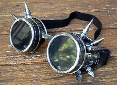 Steampunk-goggles-spikey-antiqued-silver-mad-max-costume-burning-man