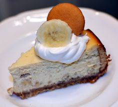 Recipes For Divine Living: Banana Pudding Cheesecake