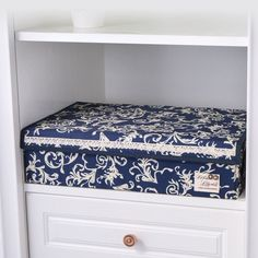 Socks and Underwear Storage Box with Cover (24 Pocket)