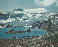 Glacier Lake, Wallowa Wilderness, OR