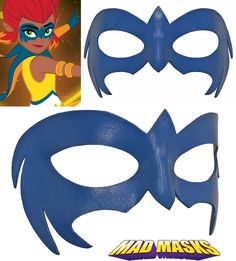 Piper Mysticons Leather Cosplay Mask
