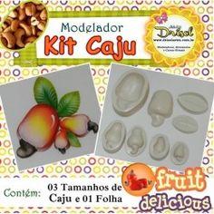 Modelador KIT CAJU (4 peças)