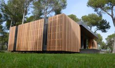 This Beautiful Passive #House Can Be Built in Just Four Days