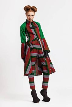And now for something completely different... Chichia combines Tanzanian and British sensibilities. This is my fave of their pieces.