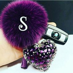 Cheap keychain video, Buy Quality keychain ring directly from China ball class Suppliers: 2015 fur pom pom keychain Fox Fur Key chain Double Side Crystal Heart Fur Ball Keychain llaveros porte clef fou Fur Keychain, Tassel Keychain, Fancy Letters, Floral Letters, Letter Monogram, S Letter Images, Alphabet Images, Alphabet Art, Heart Images