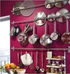 IKEA-shelf-rail-hook-31-kitchen-organizer-set-stainless-steel-holder-Grundtal