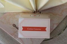 Reise ins Glück Tischkarten Kartenmacherei - Hochzeit mit Reisemotto in Orange…