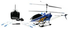 """49"""" FXD 3.5 3CH Gyro Metal Frame RC Helicopter with LED lights"""