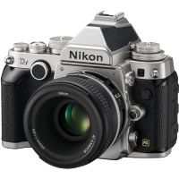 Nikon Df DSLR Camera with 50mm f/1.8 Lens (Silver)