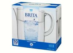brita water filter pitcher. save off on the brita everyday water filter pitcher! pitcher
