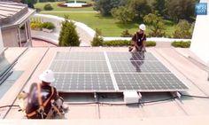 Watch The White House Finally Go Solar Solar Power House Solar Solar Panels