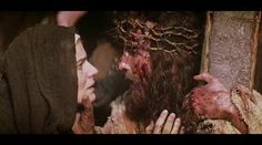 Jesus meets Sorrowful Mother.... another most touching moment+++