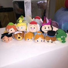 Upcoming Peter Pan Tsum Tsum set coming to the Disney Store. 2015 Photo Stitch Kingdom