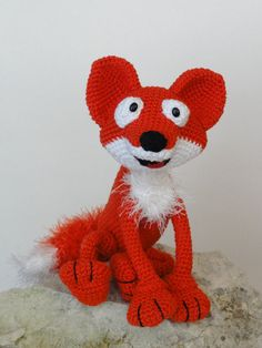 ❤ Max The Fox Amigurumi Crochet Pattern by IlDikko