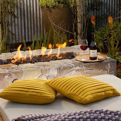 Allow our fireside butler to set-up everything you need to cozy up with your loved one this fall. #napa #napavalley #carnerosinn #carneros #visitnapavalley #fire #fireside #firesidebutler #wine #fall #autumn #cozy