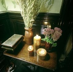 Dining room from the movie Practical Magic.