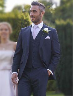 Blue Suit Wedding, Wedding Groom, Wedding Suits, Navy Grey Suit, Blue Suit Men, Navy Blue, Marriage Suits, Blazer Suit, Suit Jacket
