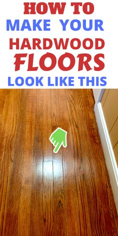How To Clean, Gloss Up your hardwood floors .Worried you aren't cleaning hardwood floors right? Check out how to care for hardwood floors daily ,to keep them up. Caring for hardwood floors is easy and simple with these tips. Diy Home Cleaning, Household Cleaning Tips, House Cleaning Tips, Diy Cleaning Products, Spring Cleaning, Cleaning Hacks, Household Products, Cleaning Checklist, Kitchen Cleaning