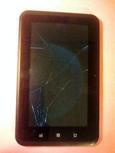 Zeki 8GB, Wi-Fi, 8in  Android tablet Needs new screen Broken #1 #Zeki