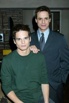 Greg Rikaart and Christian LeBlanc in 2003. #tbt #YR