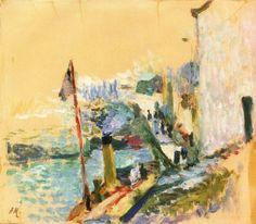 Belle Île en Mer  -  Henri Matisse  1897